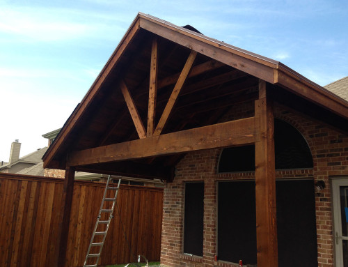 Little Elm Gabled Patio Cover