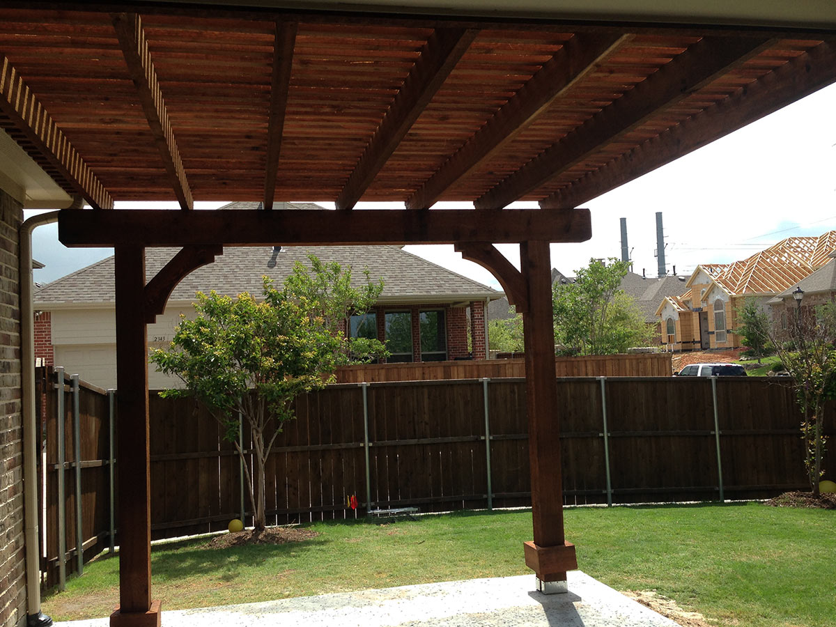 Square Arbor Pergola Custom Made For Allen Texas Hundt