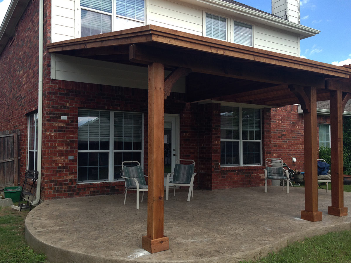McKinney Patio Gets Patio Cover AND Pergola! - McKinney Patio Gets Patio Cover Pergola! - Hundt Patio Covers