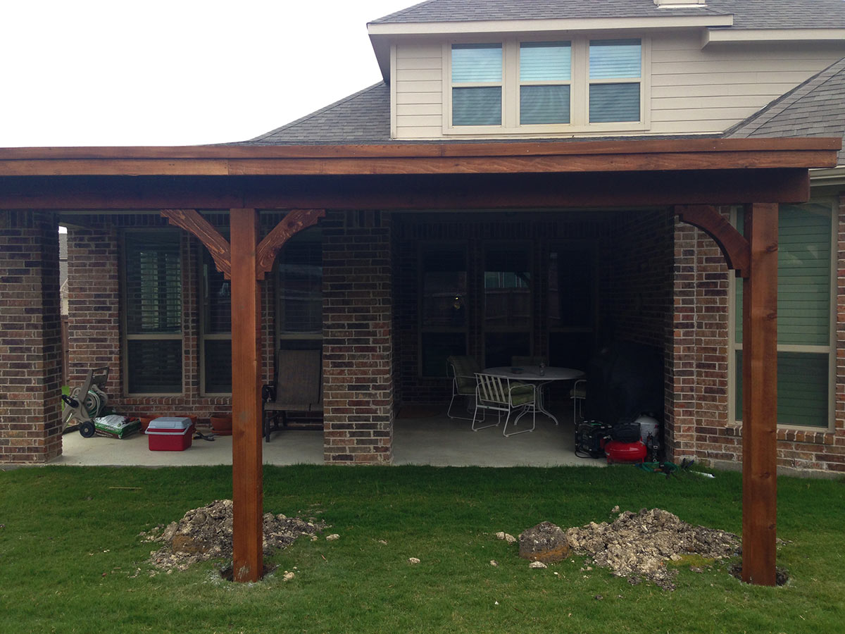 attached to fascia archives - hundt patio covers and decks - Attached Patio Cover Designs