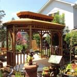 Deck Freestanding Gazebo