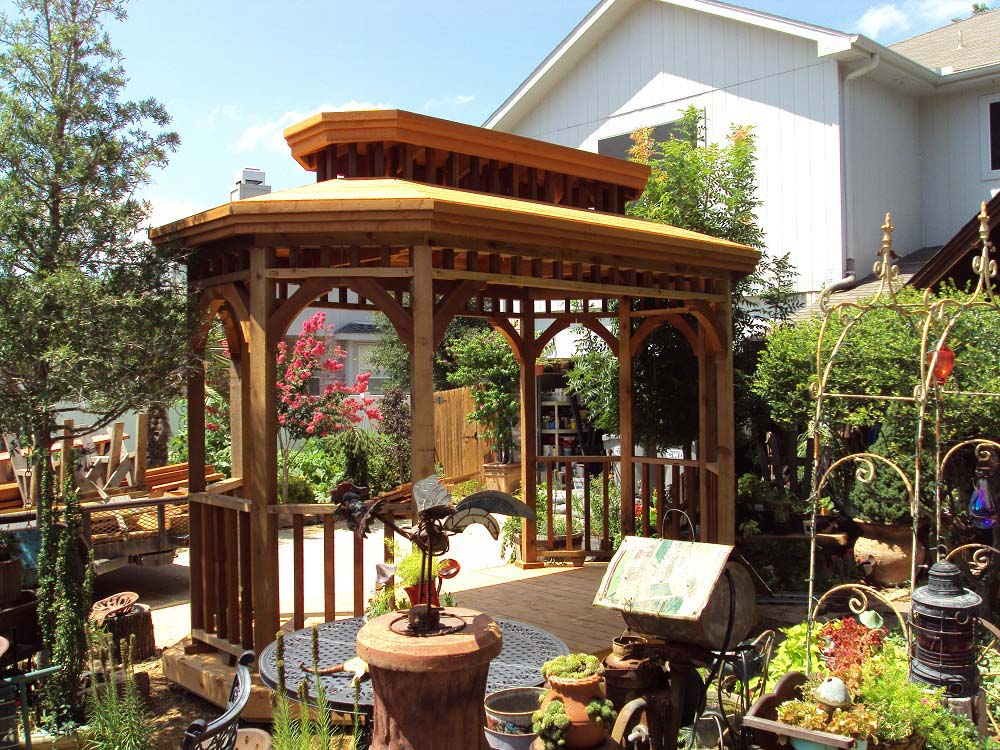 Deck Freestanding Gazebo