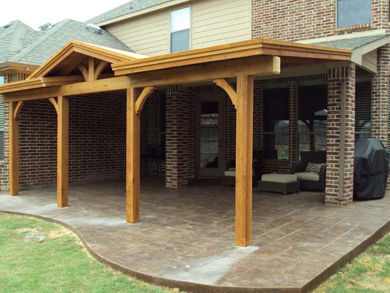 Wonderful Corbel Patio Cover