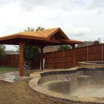 Freestanding Patio Cover Pool