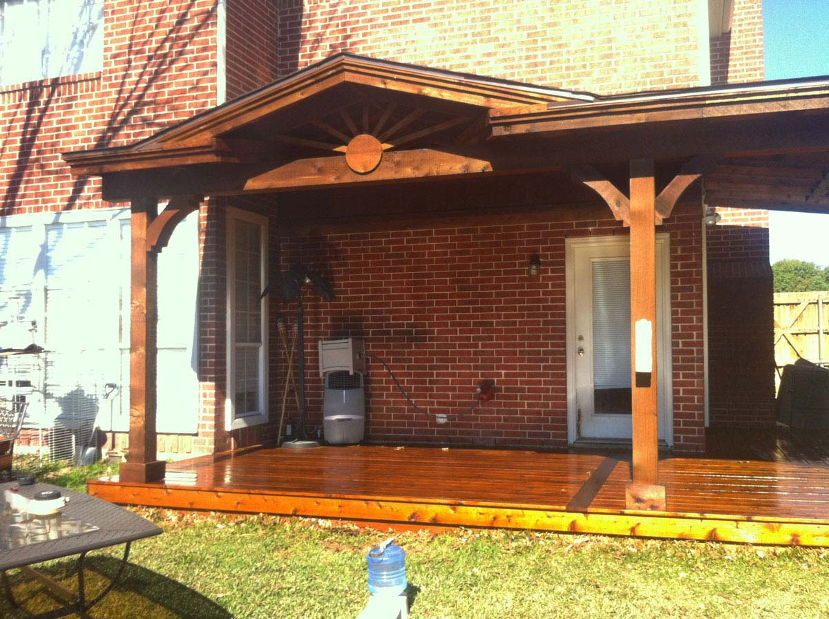 Corbel Deck Patio Cover Richardson
