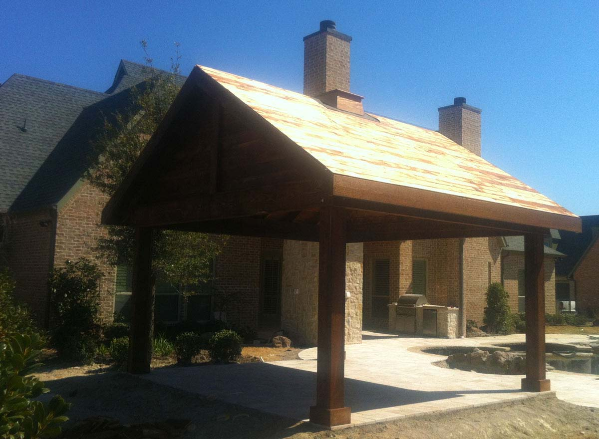 ... Fairview Freestanding Patio Cover