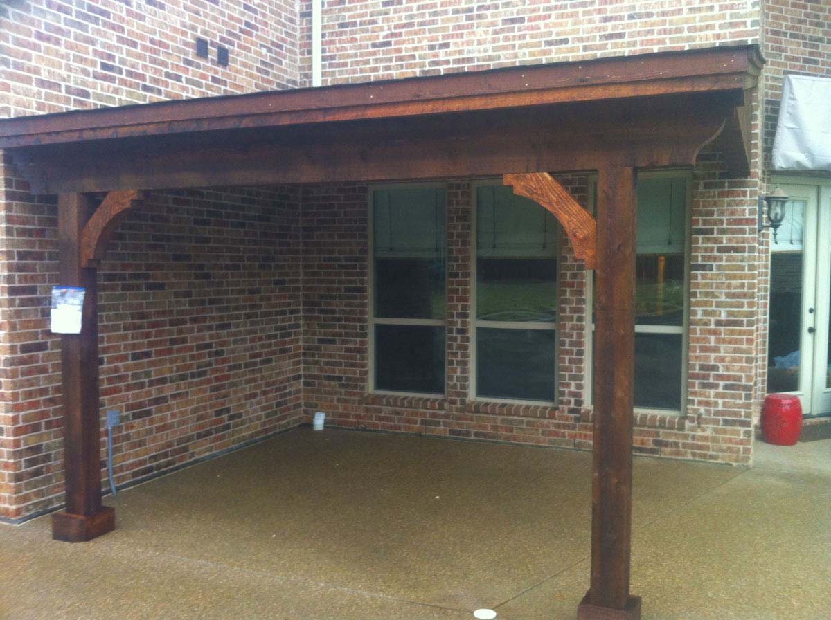 How To Stain Patio Cover