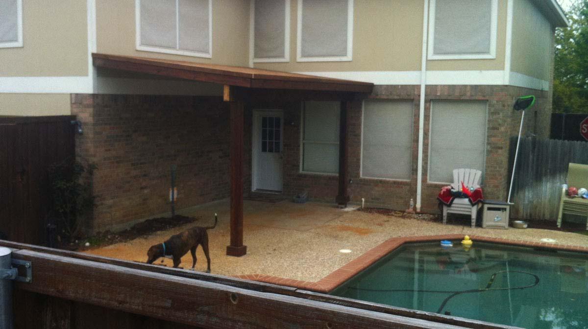 Allen Patio Cover Pool