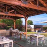 Corbel Freestanding Kitchen Patio Cover Pool