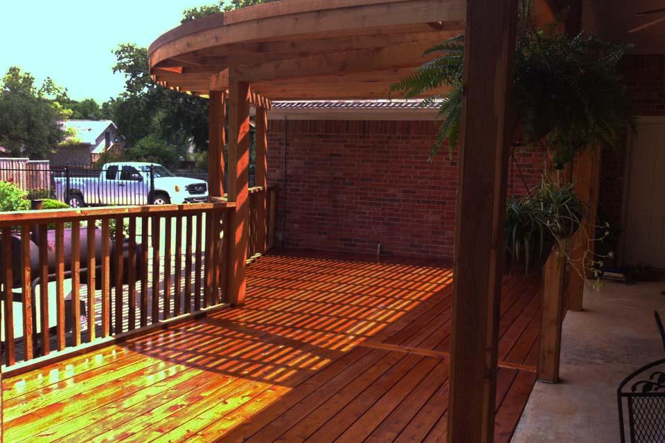 Arbor Deck Railing