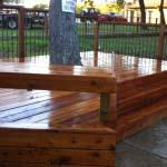 Benches Deck Denton Pool