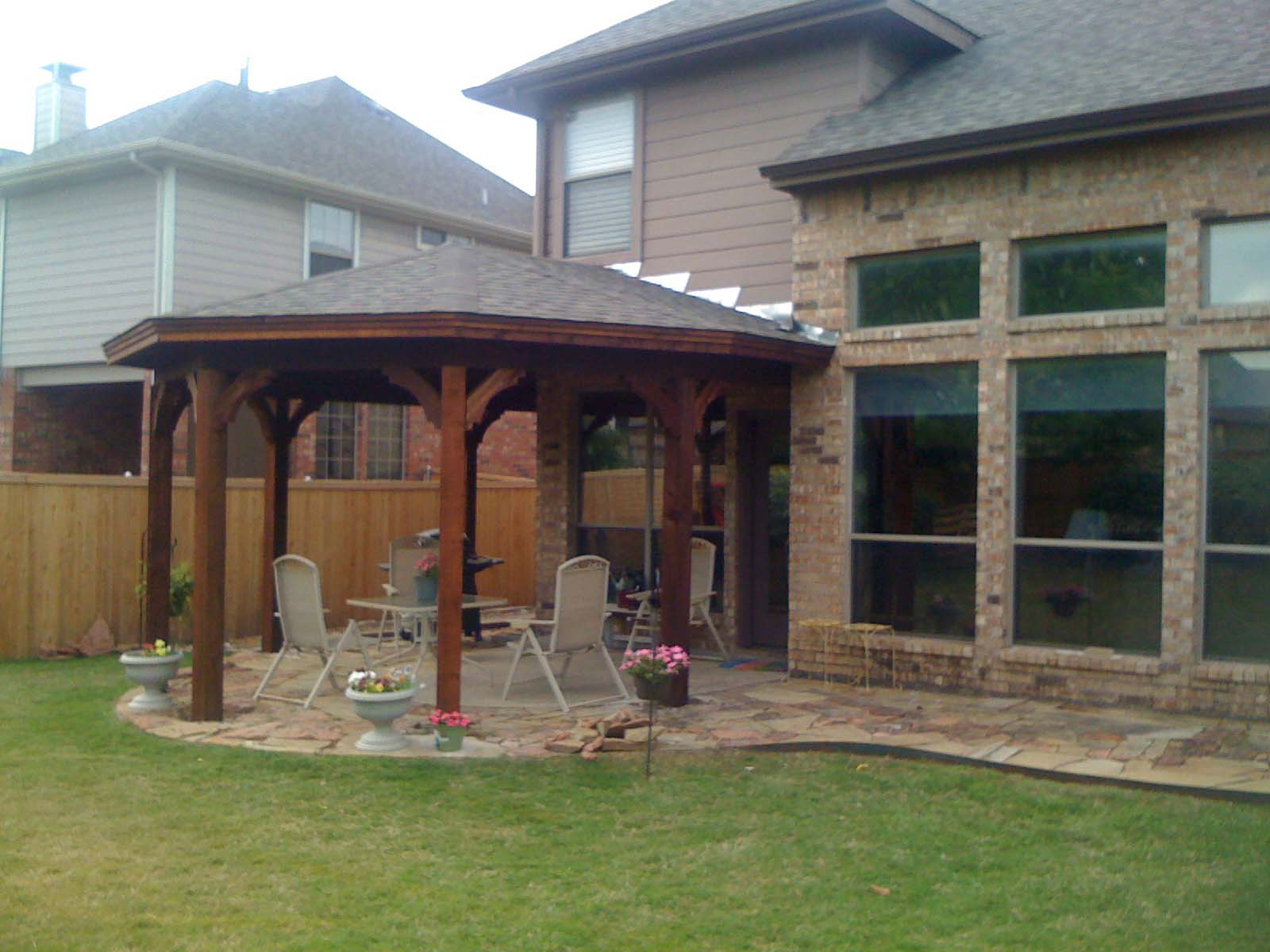 Gazebo Type Patio Cover In McKinney TX