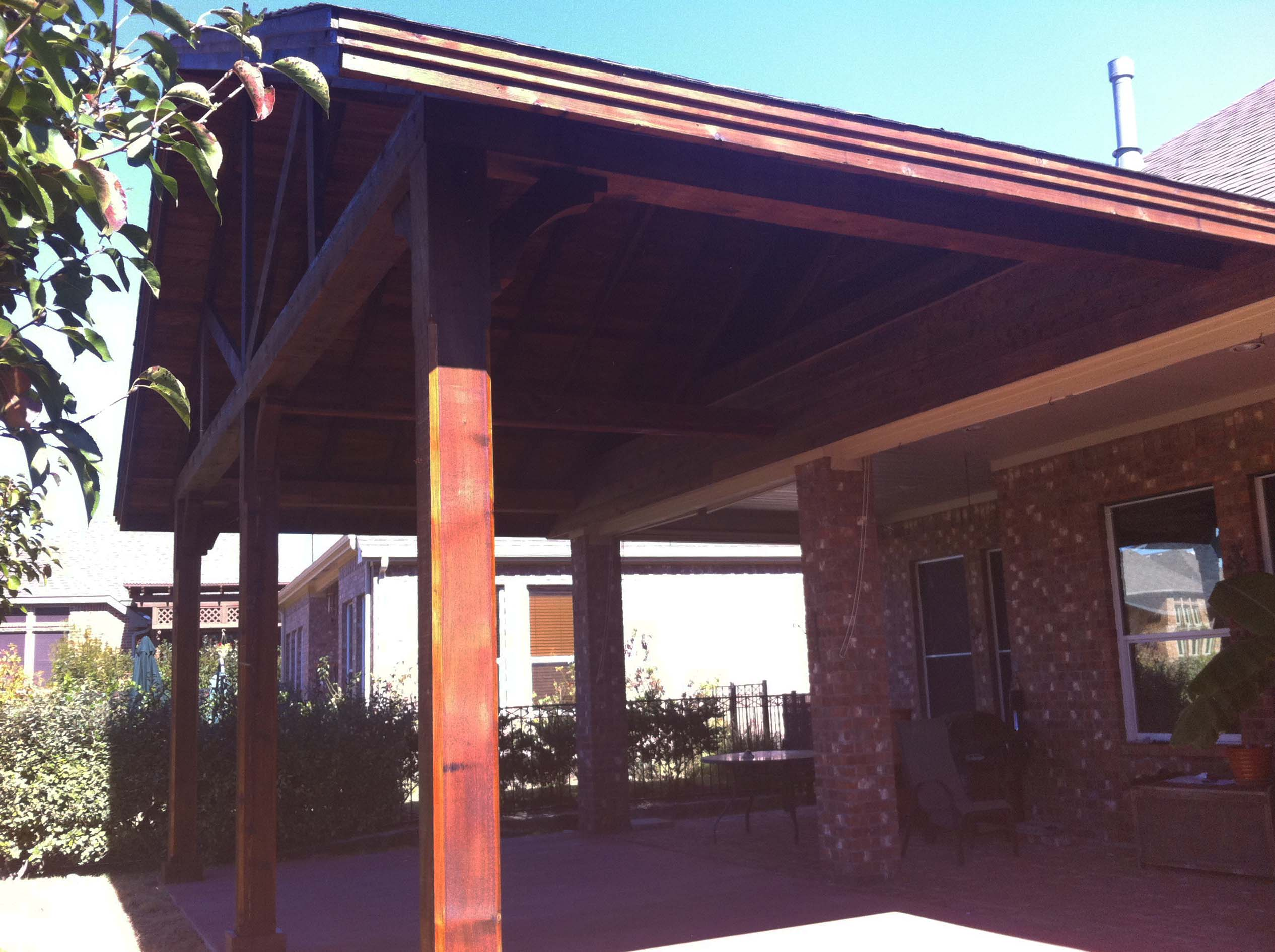 Giant Backyard Patio Cover Fairview Texas Hundt Patio Covers