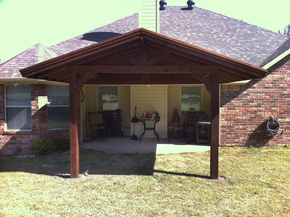 Patio Cover Shades Patio And Backyard In Sherman TX