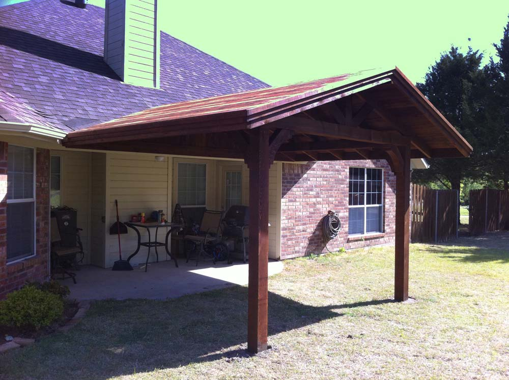 Corbel Patio Cover Sherman ...