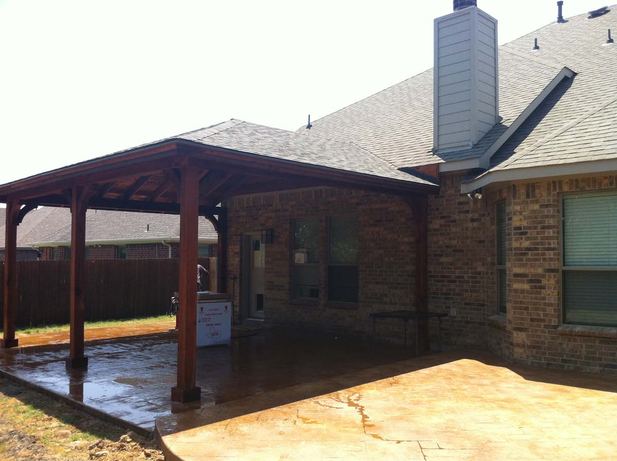 Corbel Frisco Patio Cover Wylie