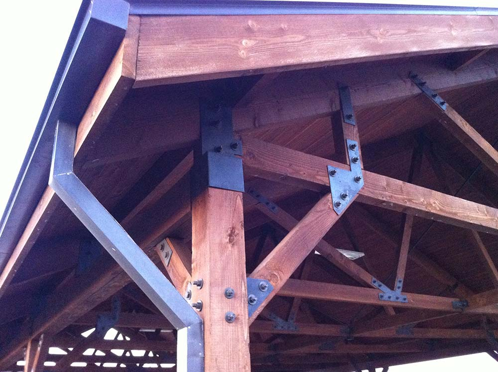 Superieur Heavy Duty Metal Hardware Creates This Patio Cover In Allen TX