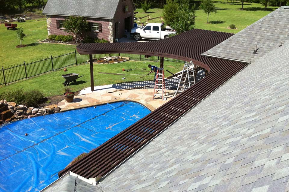 Corbel Deck Pool