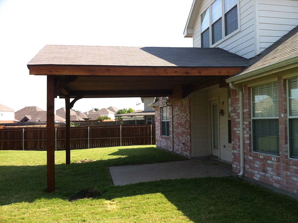 Large Gabled Patio Cover In Frisco Texas Hundt Patio