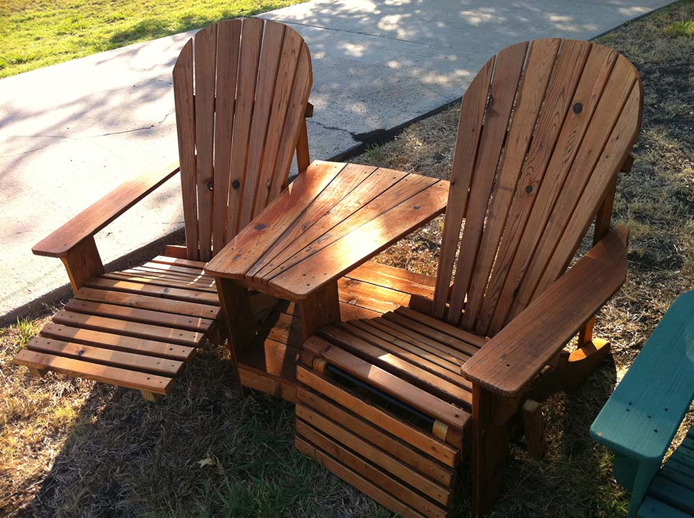Hundt Construction Also Builds The Most Comfortable Adirondack Chairs  Around!