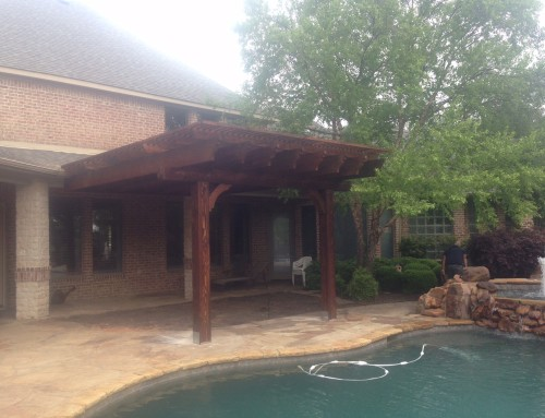 14 x 20 Multi-Level Arbor in Frisco