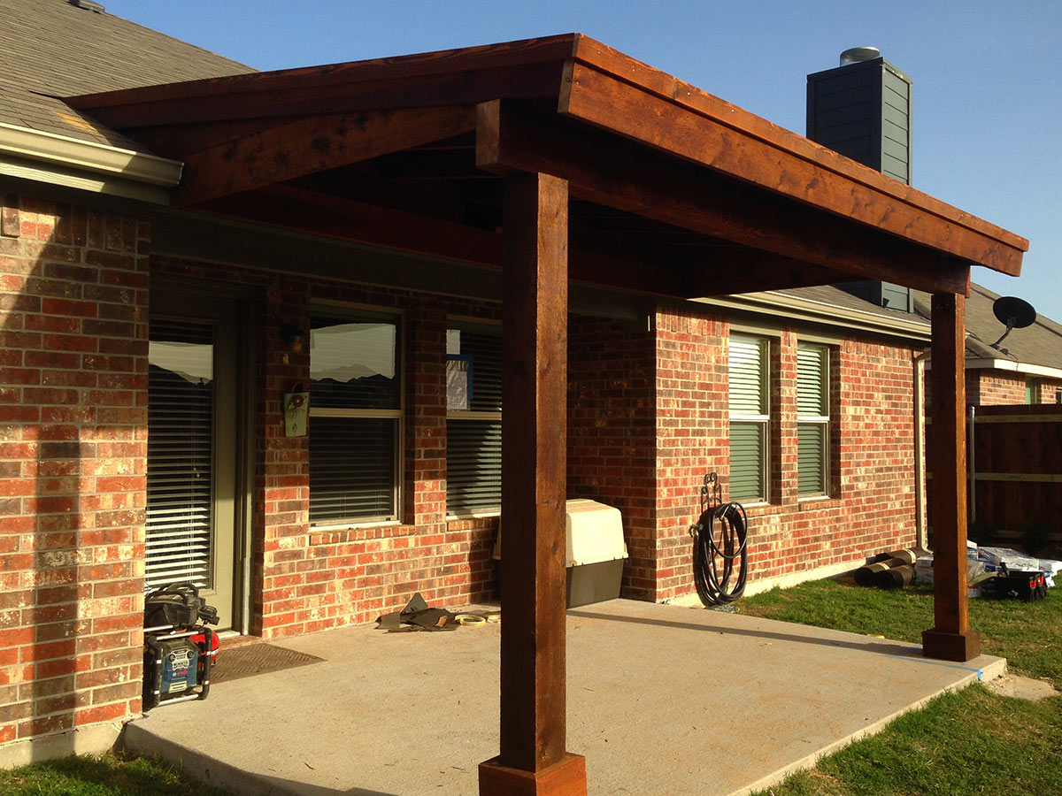 Back Patio Cover In Prosper Texas - Hundt Patio Covers and ... on Patio Covers Ideas  id=84638